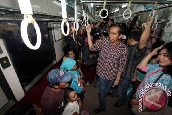 Jokowi-kereta