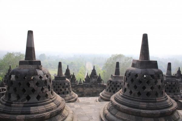インドネシアのボルブドゥール遺跡