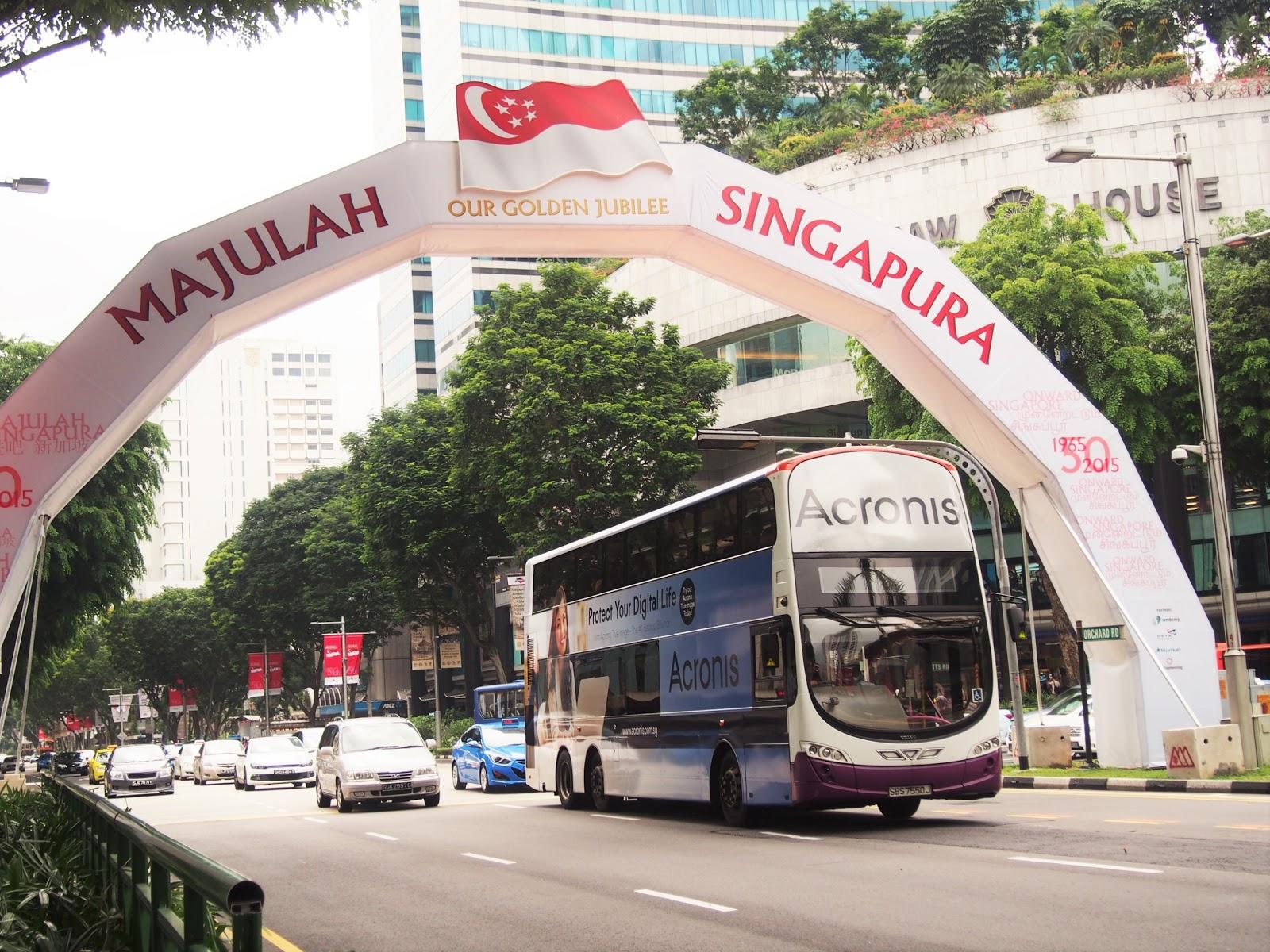 シンガポール 街の様子