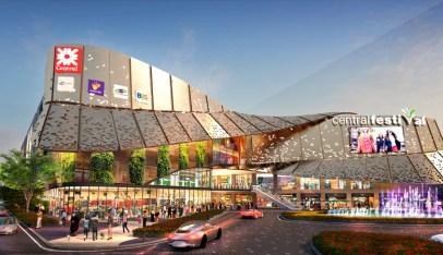 スキー場も完備!バンコク郊外に2つの巨大商業施設が完成 外観