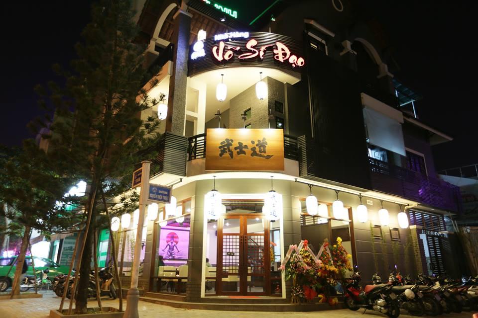 同氏が営む焼肉店、武士道レストラン