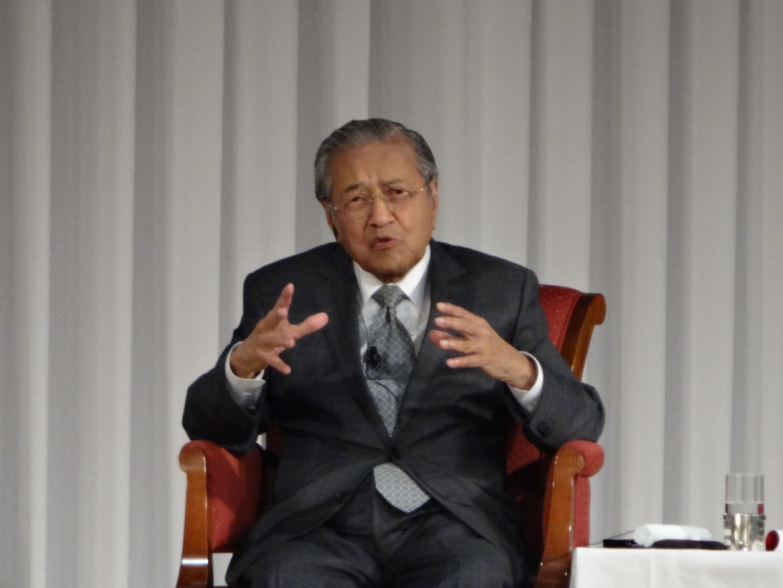マレーシアのマハティール元首相