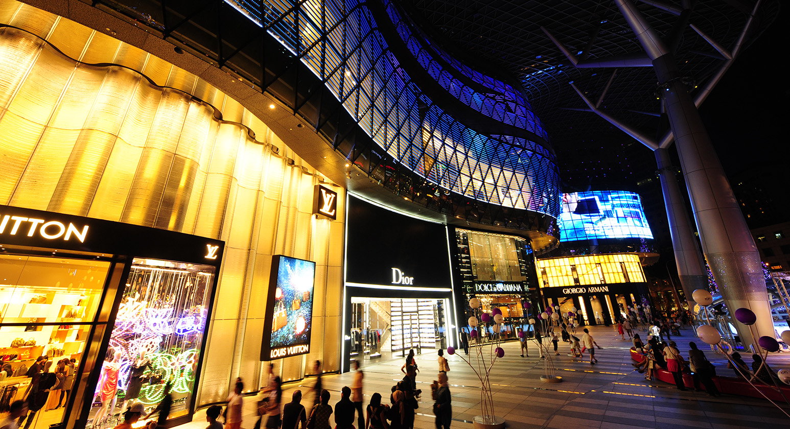 2Shopping Malls_Singapore_Ion Orchard_Ion Orchard Singapore-Duplex Frontage