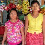 ミャンマーの女性店主